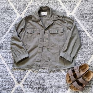 Universal Threads Green Utility Jacket